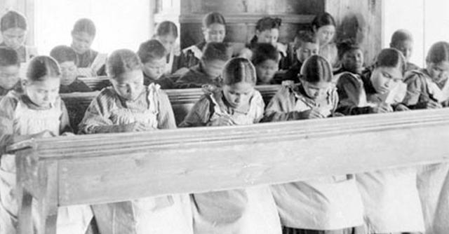 Schools Kids Hard at Work - 1914