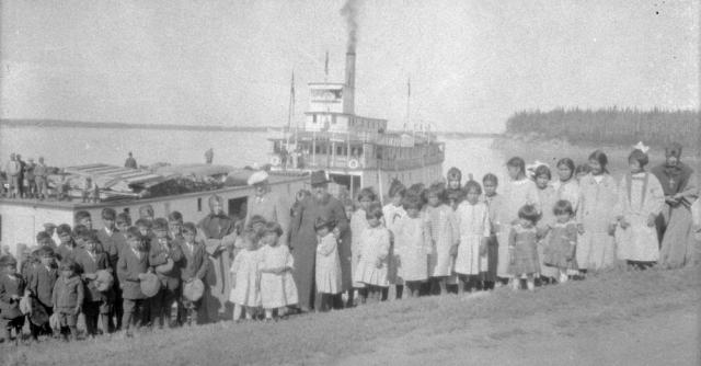Fort Providence Residential School 1929